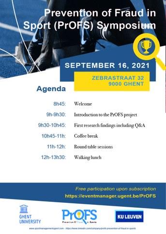 Agenda PrOFS symposium