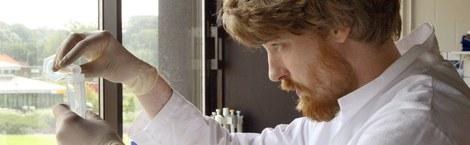 Labo in vakgroep Virologie, Parasitologie en Immunologie