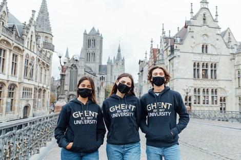 UGent-studenten tijdens COVID-19