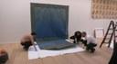 Opbouw tentoonstelling 10