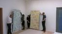 Opbouw tentoonstelling 11