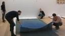 Opbouw tentoonstelling 8