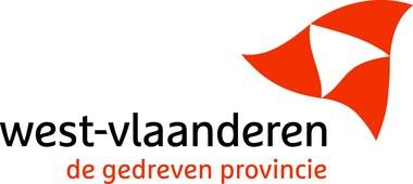 Logo West-Vlaanderen (vergrote weergave)
