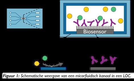 Modificeren van oppervlakeigenschappen voor laboratorium-op-een-chip foto 6a