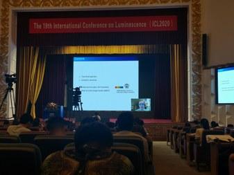 Jonas Joos presenting at ICL2020 (large view)