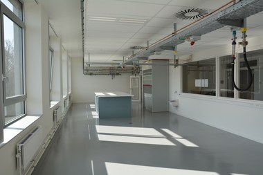 New lab rooms (large view)