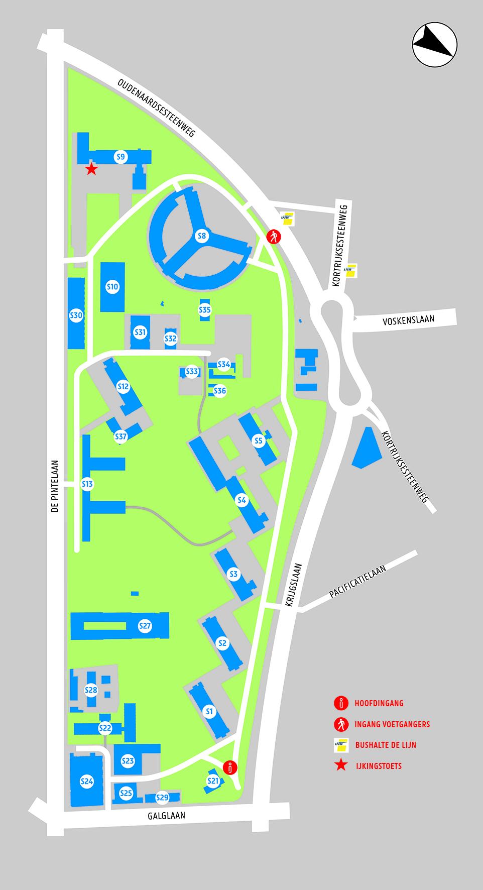 IJkingstoets - 2019 - Campus Sterre - gebouw S9