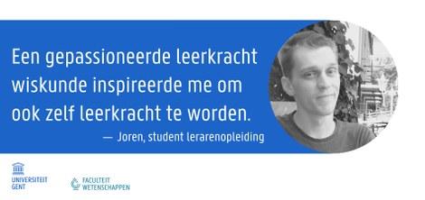 Joren - Student educatieve master