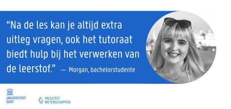 Morgan - Bachelorstudente wiskunde