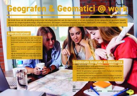 Geografen en geomatici aan het werk - 1