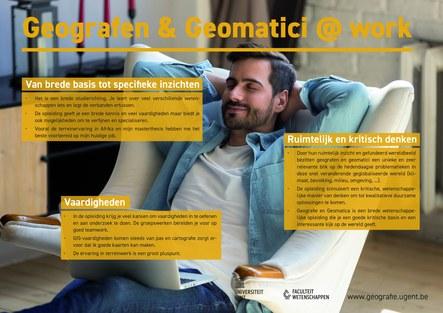 Geografen en geomatici aan het werk - 2