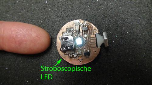 Stroboscopische LED - detail