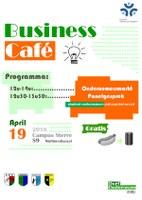 Business Café - affiche
