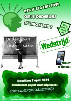 Studentenwedstrijd Onderwijsinnovatie