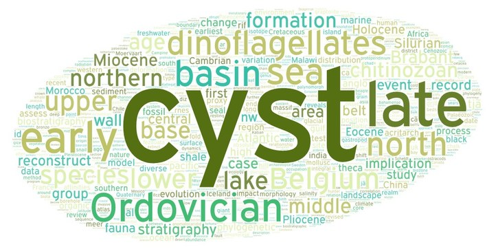 Wordcloud Paleologie